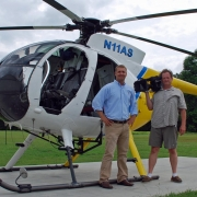 The president of Aerial Solutions, a North Carolina based company that pioneered the use of helicopter tree trimming, announced that the company will be featured on an upcoming episode of Innovations by Ed Begley, Jr. on the Discovery Channel.